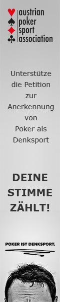 Petition / Bürgerinitiative: Poker ist Denksport